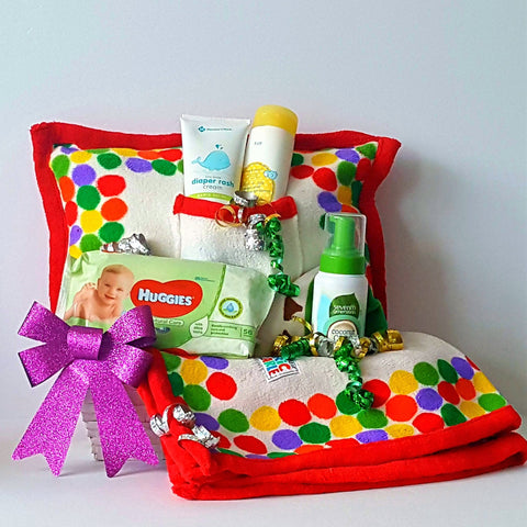 New World – Baby Gift Basket