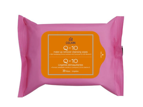 Q-10 Make-up Remover Cleansing Wipes (30 Wipes)