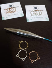 Large Cat Ear Stitch Markers - Pack of 3