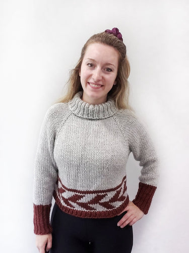 Fletching Sweater - KNITTING PATTERN