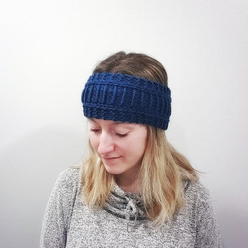 Ladder Rungs Headband - KNITTING PATTERN