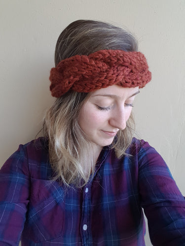 Galiano Headband - KNITTING PATTERN