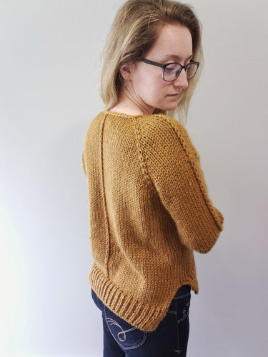 Compass Sweater - KNITTING PATTERN