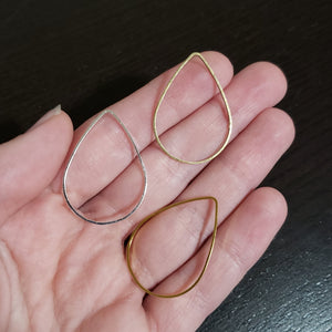 Large Teardrop Stitch Markers - Pack of 10