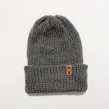 Hipster Slouch Beanie - Grey
