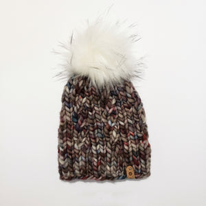Chunky Cable Beanie - Multi