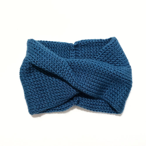 Twist Headband - Teal Blue