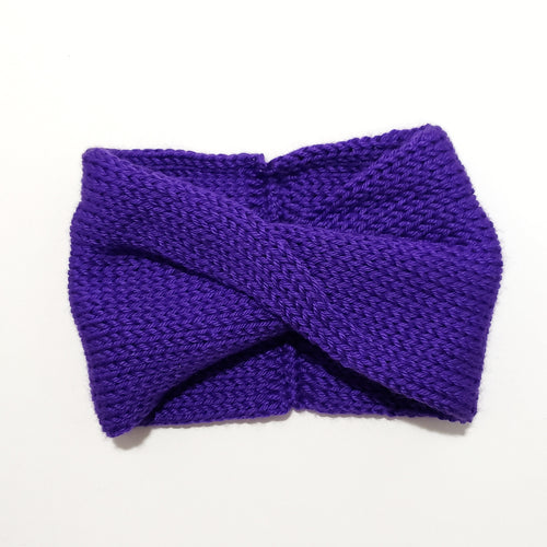 Twist Headband - Ultra Violet