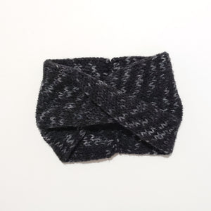 Twist Headband - Black Tonal