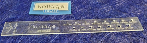 Kollage SQUARE™ Gauge Ruler