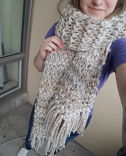 Bamfield Scarf - KNITTING PATTERN