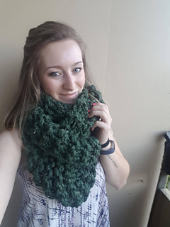 Killarney Infinity Scarf - KNITTING PATTERN
