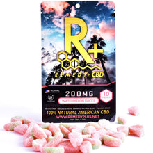Load image into Gallery viewer, RemedyPlus CBD Edible Watermelon Slices 200mg | Relax | Snack