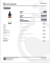 Load image into Gallery viewer, RemedyPlus CBD OIL VEGAN Daily Health Tincture 1000mg