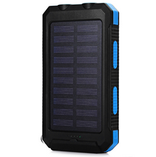 Load image into Gallery viewer, Original REF Solar Cell Phone Charger and Water-Resistant Power Bank