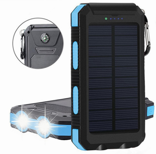 REF Power - Solar Cell Phone Charger Water-Resistant-weights 11oz - REF Outlet