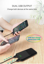 Load image into Gallery viewer, REF Power Lightweight, Slim Portable Battery Charger w/ LCD Digital Display Dual USB Output