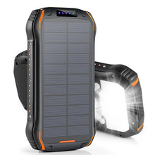 Load image into Gallery viewer, REF Power - 'The Hardcore' Wireless Solar Power Portable Charger