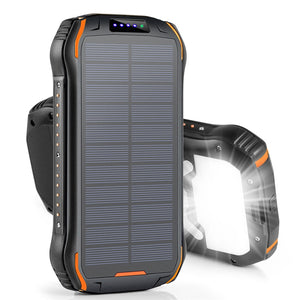 REF Power - 'The Hardcore' Wireless Solar Power Portable Charger