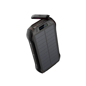 REF Power - 'The Hardcore' Wireless Solar Power Portable Charger black- REF Outlet