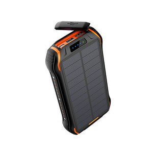 REF Power - 'The Hardcore' Wireless Solar Power Portable Charger orange- REF Outlet