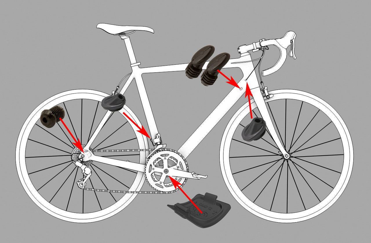 Di2 Plugs Layout