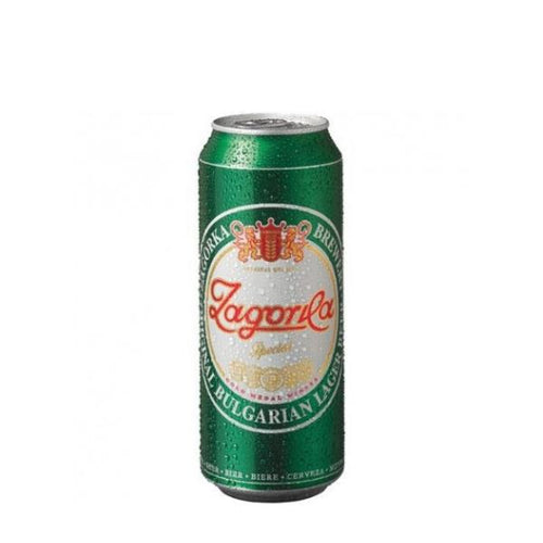 Beer - Zagorka - Bulgarian Lager Beer 500ml