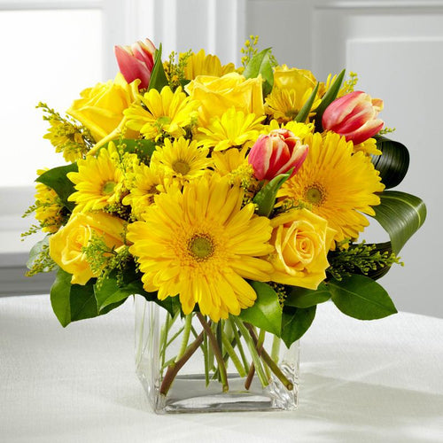 Flowers - Spring Sunshine Bouquet