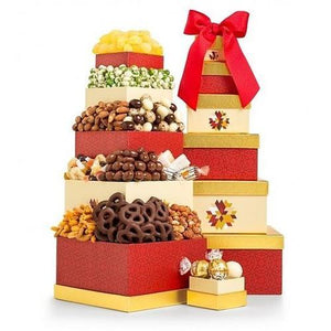 Gift Baskets - Best Wishes To Share Tower