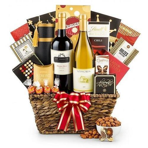 Gift Baskets - California Wine Tasting Gift Basket