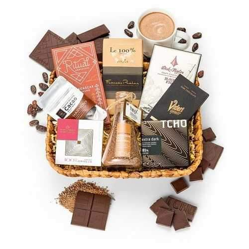 Gift Baskets - Premium Dark Chocolate Gift
