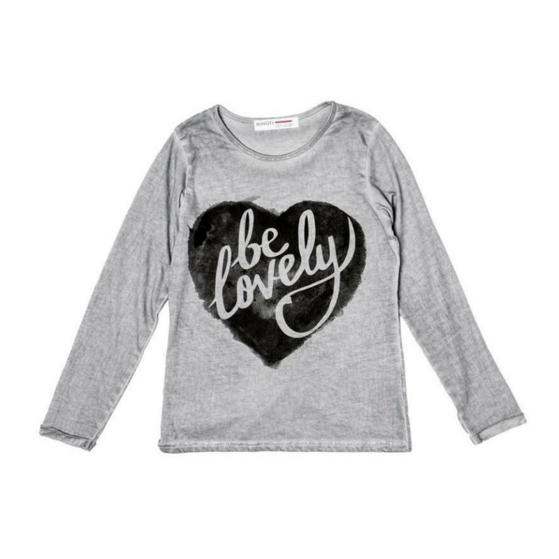 Bluza gri, Be Lovely, 3-4ani