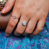 That Gypsy Shop bead moonstone ring