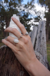 Moonstone Bead Ring