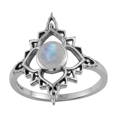 Moonstone Persia Rainbow Ring