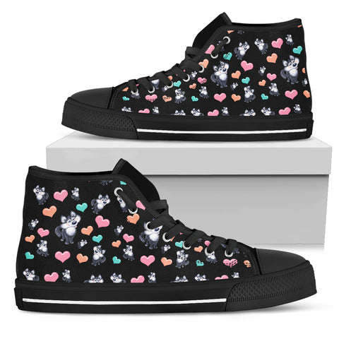 Snow Dog High Top Shoes | Mens and Womens