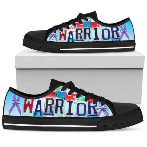 Alzheimer Warrior Low Top Shoes