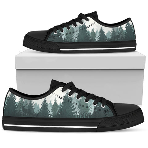 PINE FOREST LOW TOP CANVAS SHOE