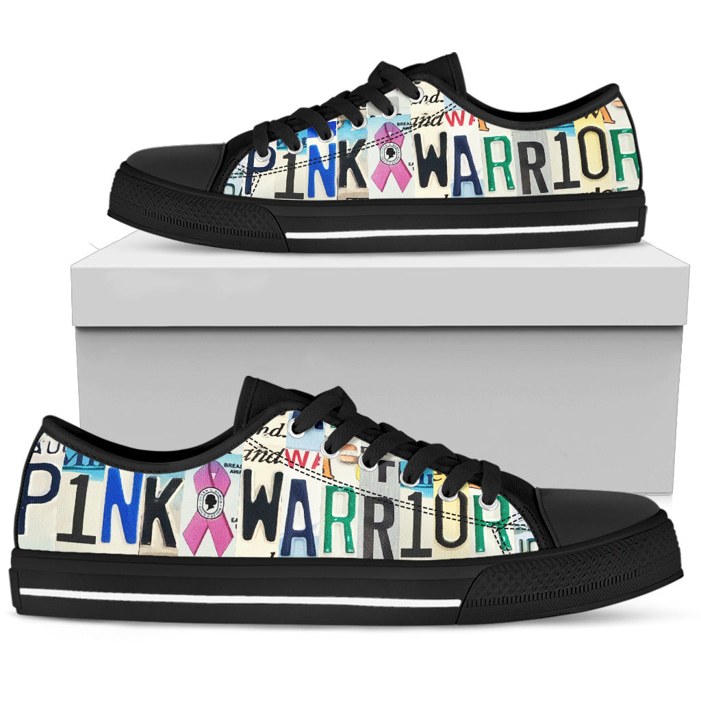 Pink Warrior Low Top Shoes