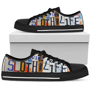 Sloth Life Low Top Shoes