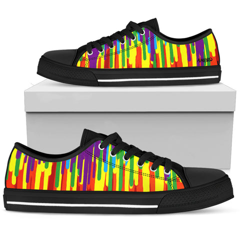 Women's Psychedelic Low Tops