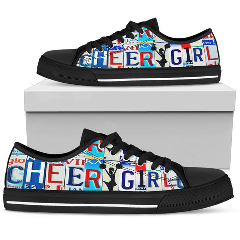 Cheer Girl Low Top Shoes