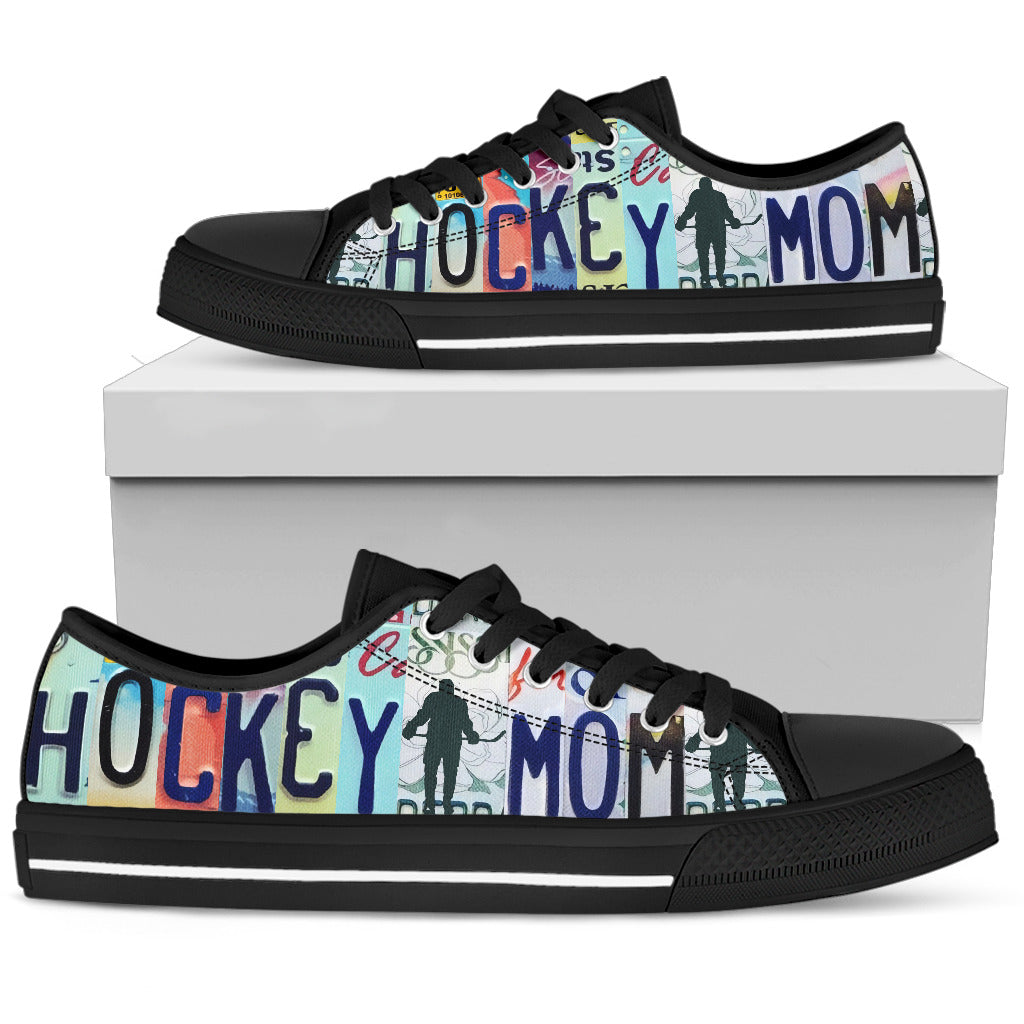 Hockey Mom Low Top Shoes