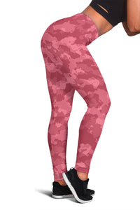 Camo Leggings Pink
