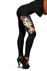 Sugar Skull Fashion Leggings
