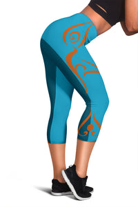 Yoga Figures Women's Capris Leggings