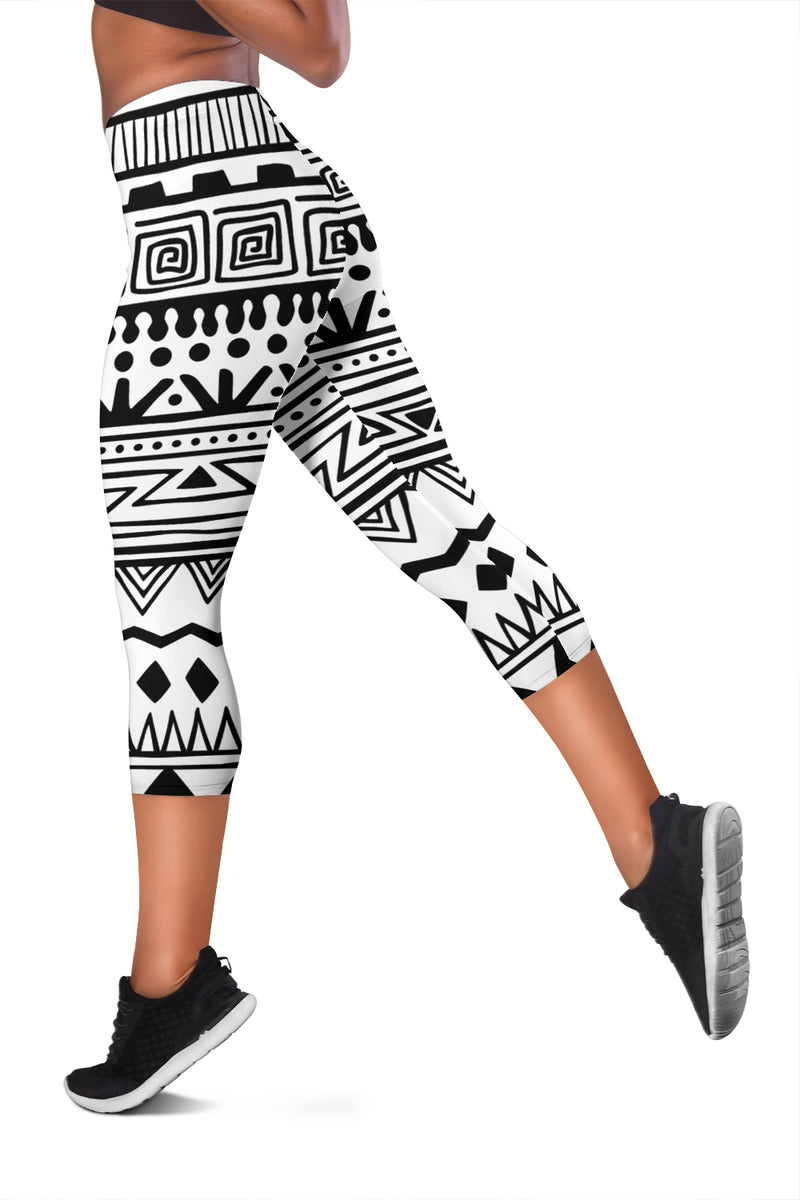 Bohemian Capri Leggings