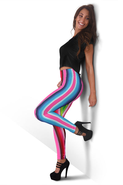 Stripe Womens Leggings