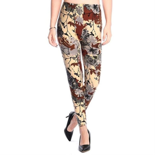 Comic Leggings - Cartoon Prints