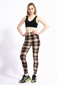 Plaid and Elegant Leggings